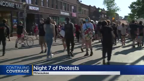 Peaceful demonstrations continue as protesters march for justice